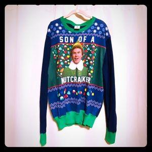 men's ELF christmas sweater